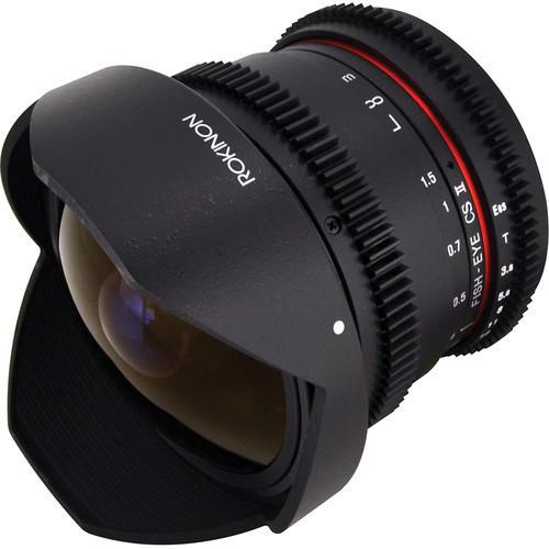 Lente Rokinon Cine 8mm T3.8 HD HAS IF UMC M4/3 RKHD8MV-MFT