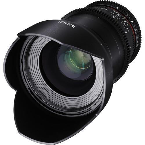 Lente Rokinon Cine 35mm T1.5 AS IF UMC para Canon EF DS35M-C