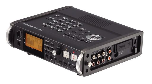 Gravador Digital Tascam DR-680 MKII com 8 Canais