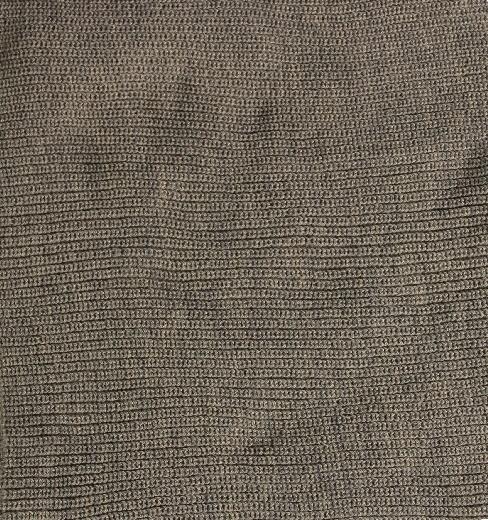 Wrap de Lã Cinza Escuro para Fotografia Newborn