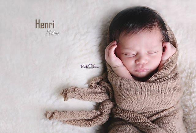 Wrap de Lã Café com Leite para Fotografia Newborn