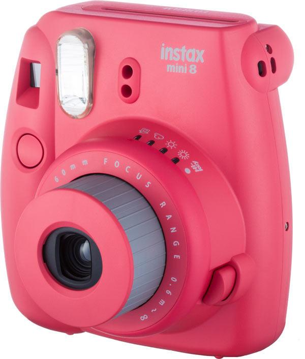 Câmera Instantânea Fujifilm Instax Mini 8 - Framboesa
