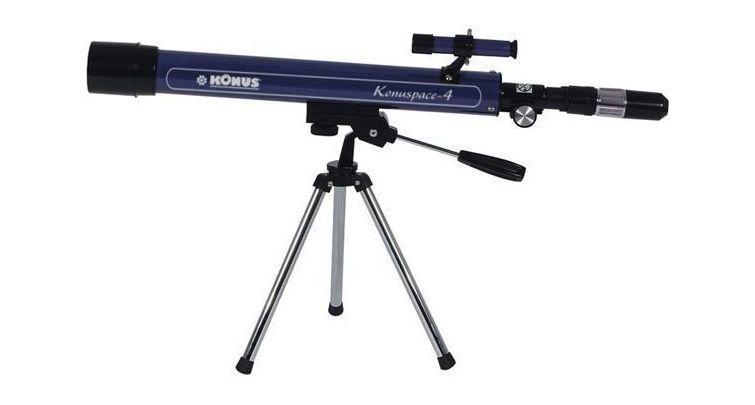 Telescópio Konus Konuspace-4 50mm f/12 F.600 Refrator