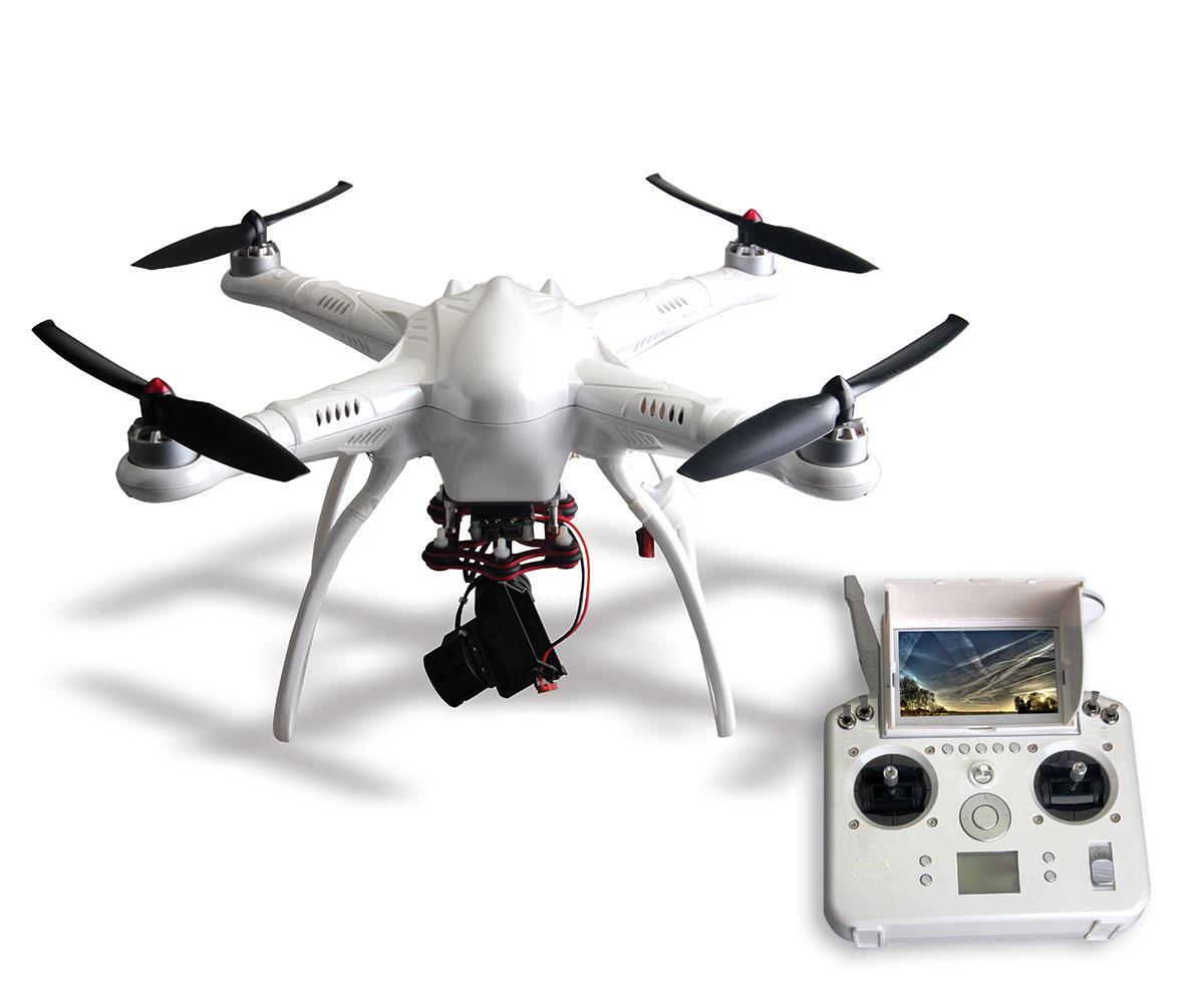 Drone Free-X2 para Câmera de Ação GoPro com Gimbal