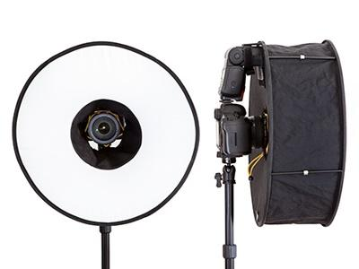 Softbox Ring Flash para Flash Speedlite 60cm