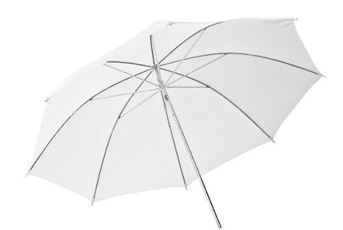 Sombrinha Fotográfica Difusora Branca de 84cm
