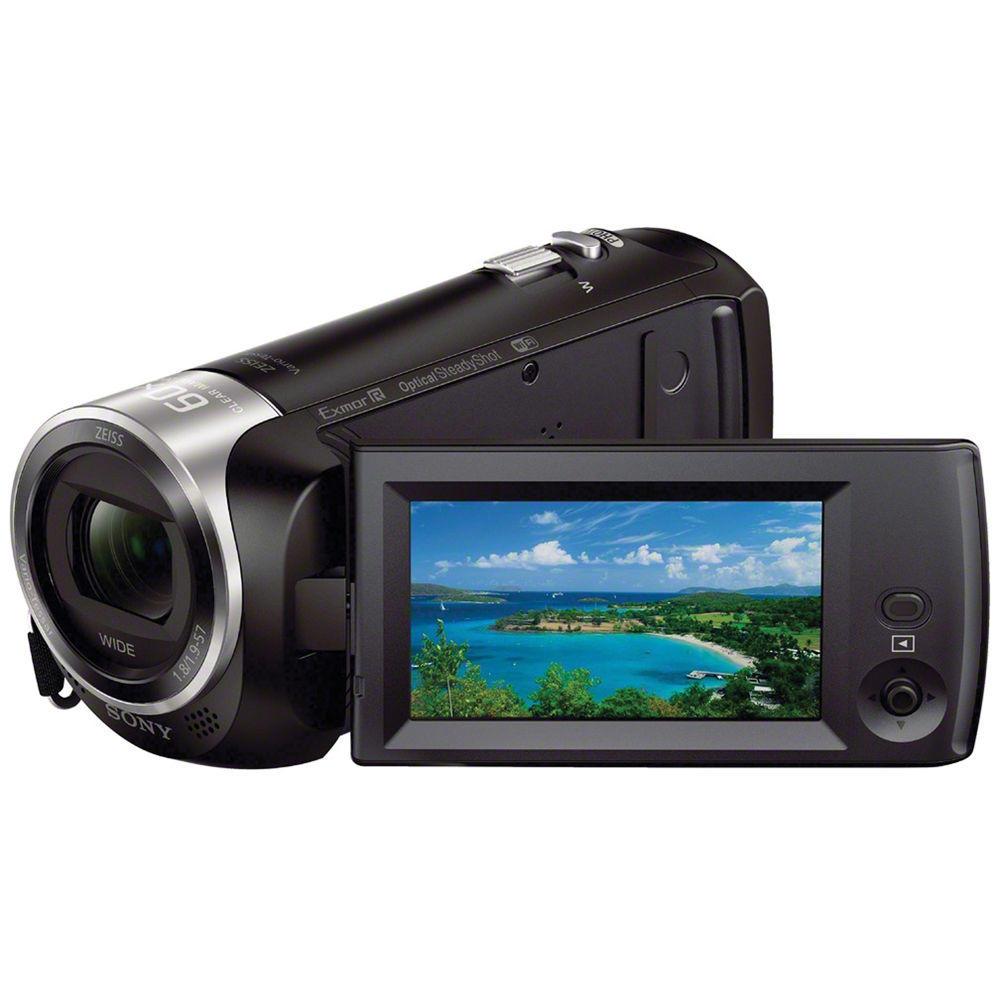 Filmadora Handycam Sony HDR-CX440 HD com 8Gb Memória Interna ( Preta )