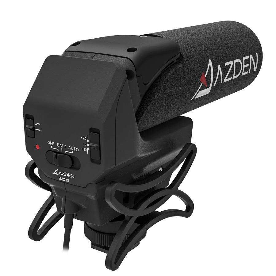 Microfone Shotgun Estéreo Azden SMX-15
