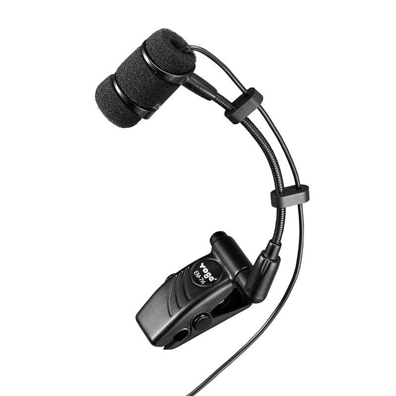 Microfone de Lapela Yoga EM-714 para Instrumentos Musicais