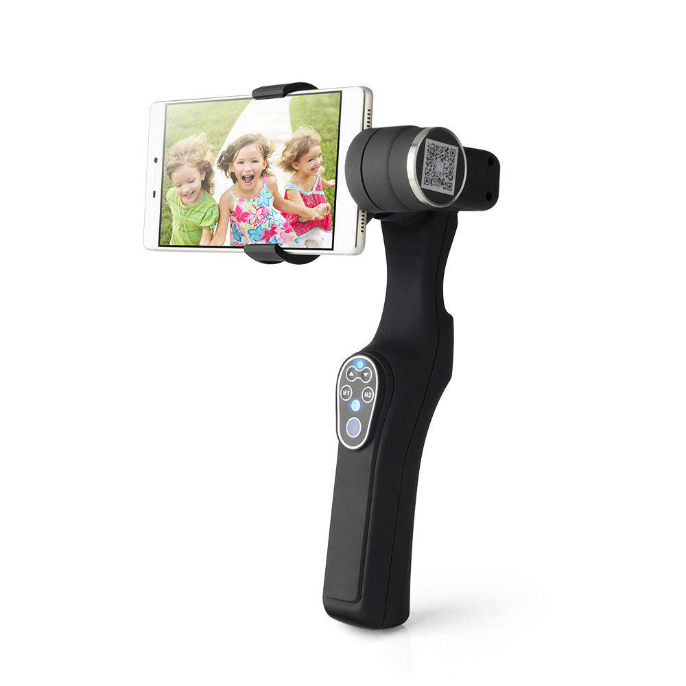 Estabilizador Steadicam para Smartphone com 360º com Gyro-Movie e 2 eixos