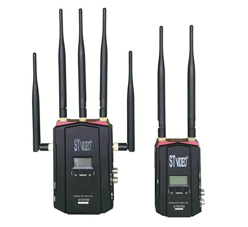 Transmissor e Receptor de Áudio e Vídeo sem fio STW-700