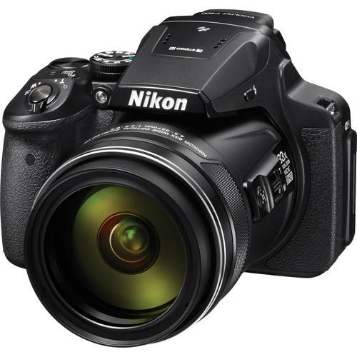 Câmera Nikon COOLPIX P900 com 16MP e Zoom de 83x
