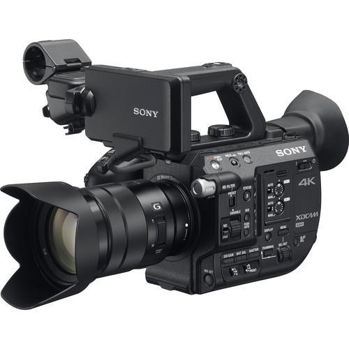 Filmadora Sony PXW-FS5K 4K XDCAM Super35 Streaming com Lente Sony 18-105mm f/4 G OSS
