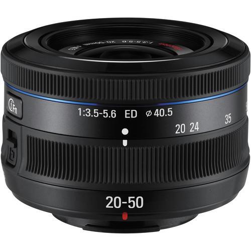 Lente Samsung 20-50mm f/3.5-5.6 ED II i-Function (Preta)