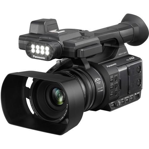 Filmadora Panasonic AG-AC30 Full HD AVCCAM com iluminador de LED embutido