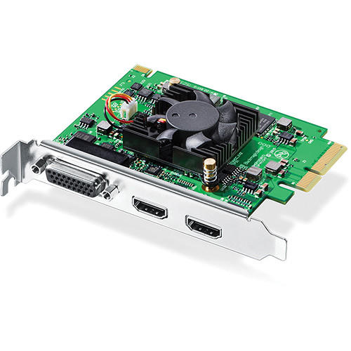 Placa Blackmagic Intensity Pro 4K