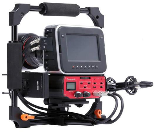 Gravador Digital Saramonic BMCC-A01 para Câmera BlackMagic Cinema