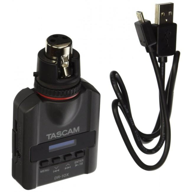 Gravador Digital Tascam DR-10X Plug-On Micro Linear PCM (XLR)