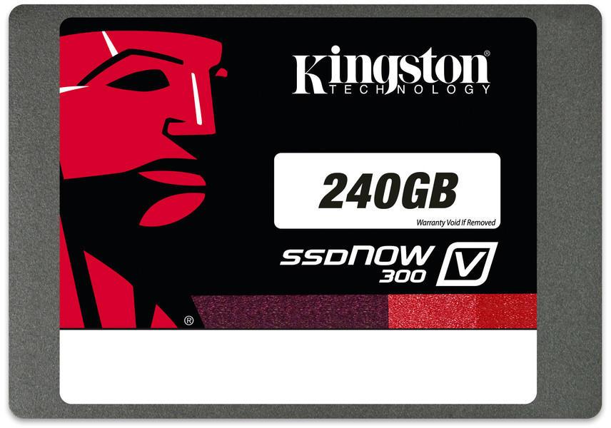 Cartão SSD Kingston 240GB com velocidade de leitura de 450mb/s