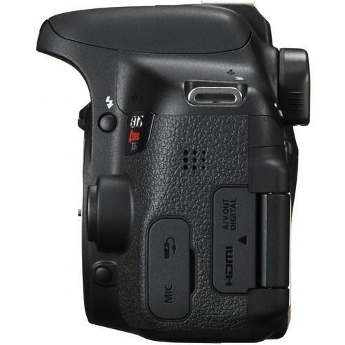 Câmera Canon T6i com Lente EF-S 18-55mm f/3.5-5.6 IS STM