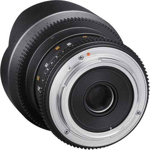 Lente Rokinon 14mm T3.1 Cine ED AS IF para Canon EF DS14M-C