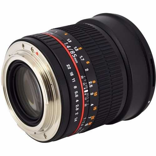 Lente Rokinon Cine 85mm T1.5 AS IF UMC com Montagem M3/4 DS85M-MFT
