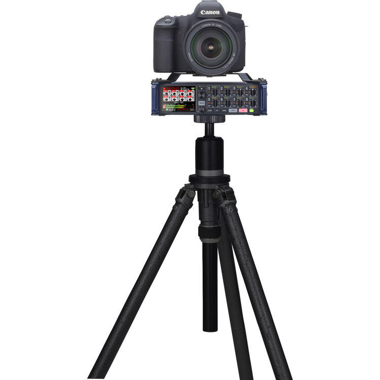 Gravador Digital Zoom F8 Multi Track Field