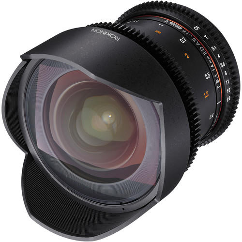 Lente Rokinon Cine 14mm T3.1 ED AS IF UMC M4/3 DS14M-MFT