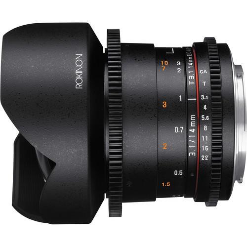 Lente Rokinon Cine 14mm T3.1 ED AS IF UMC M4/3 DS14M-MFT