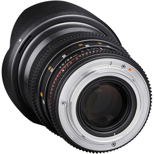 Lente Rokinon Cine 24mm T1.5 ED AS IF UMC para Canon EF DS24M-C