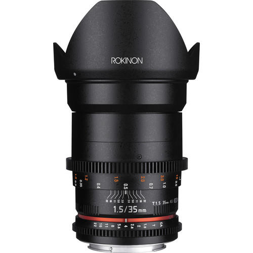 Lente Rokinon Cine 35mm T1.5 AS IF UMC para Canon EF DS35M-C