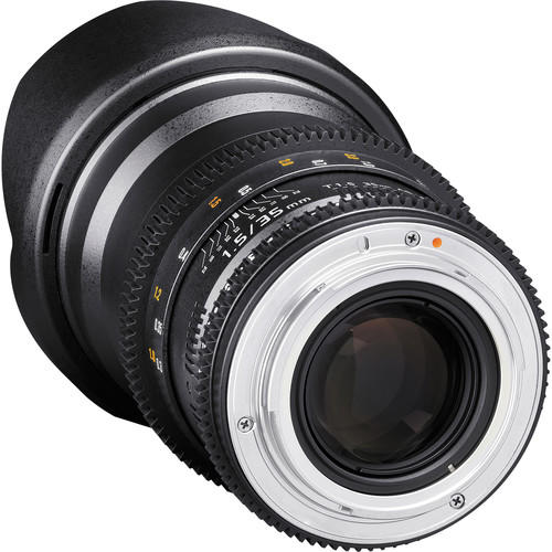Lente Rokinon Cine 35mm T1.5 AS IF UMC M4/3 DS35M-MFT