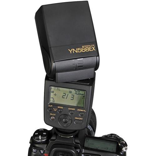 Flash Yongnuo YN-568EX para Nikon
