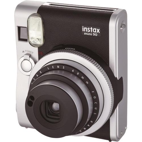 Câmera Instantânea Fujifilm Instax Mini 90 Neo Classic - Preta