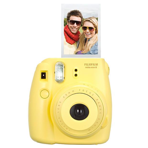 Câmera Instantânea Fujifilm Instax Mini 8 - Amarela