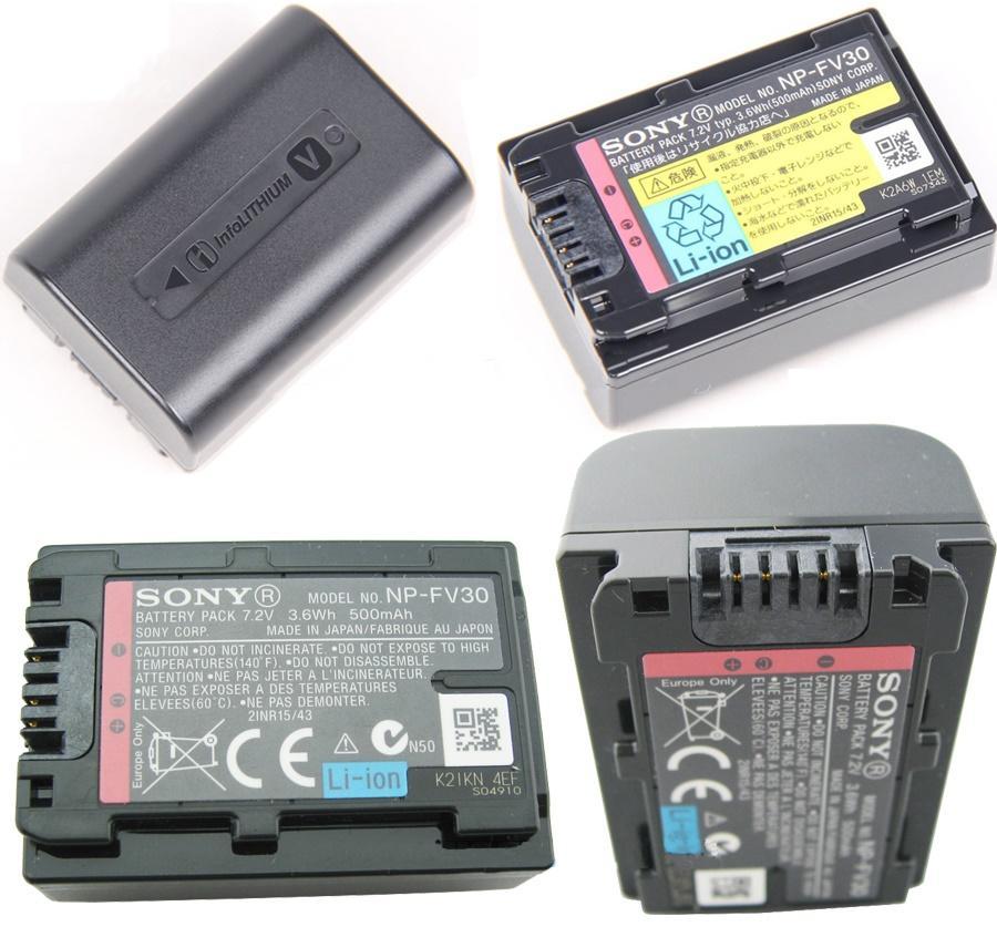 Bateria Sony NP-FV30