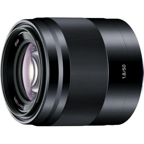 Lente Sony E 50mm f/1.8 OSS E-Mount (SEL50F18)