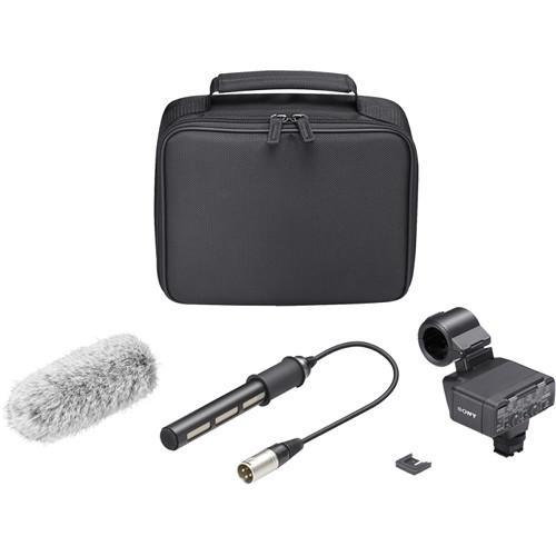 Kit Microfone Shotgun Sony XLR-K2M com Adaptador XLR Duplo