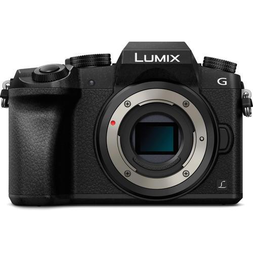 Câmera Panasonic Lumix DMC-G7K Mirrorless com Lente 14-42mm F3.5-5.6 II ASPH Mega OIS