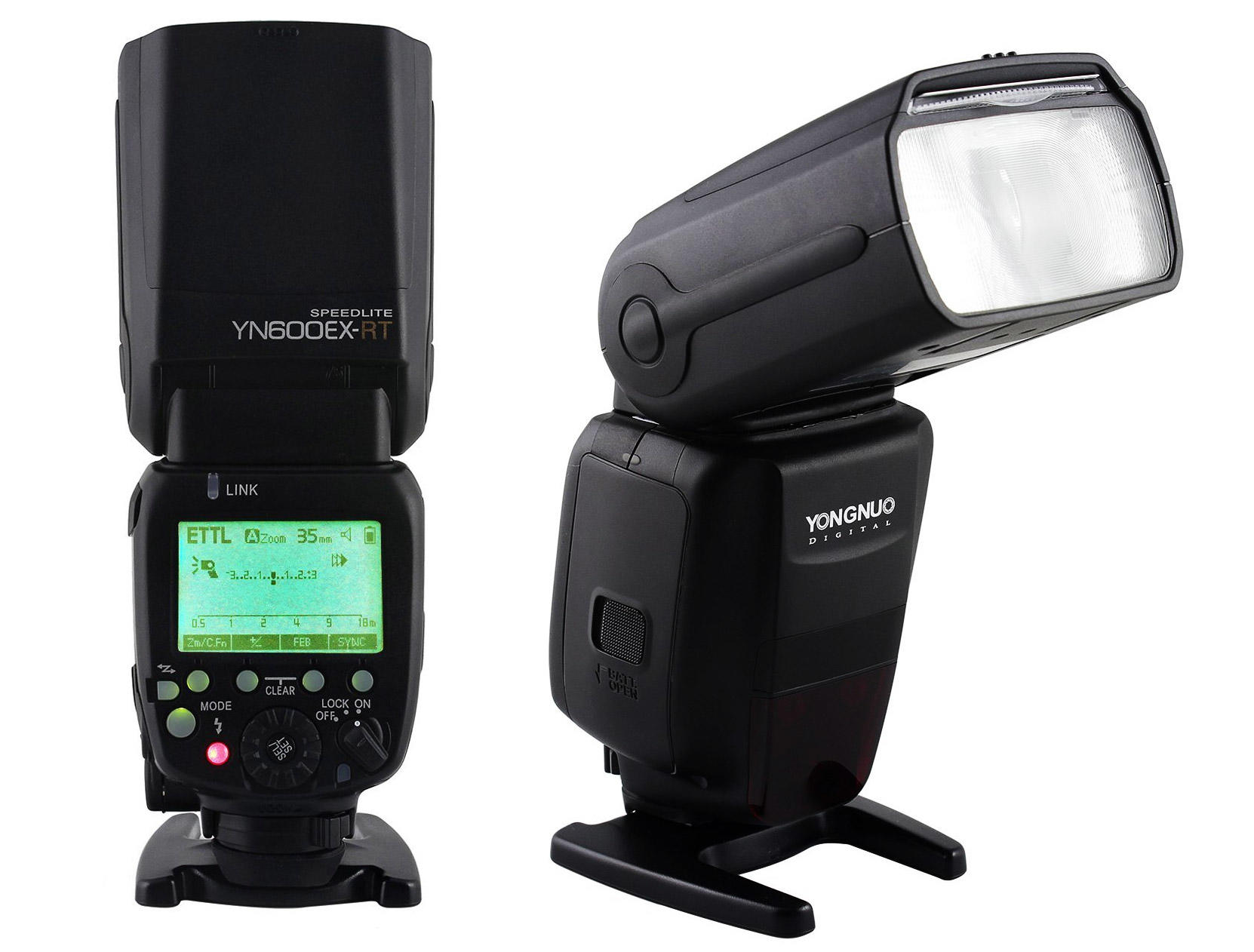 Flash Speedlite Yongnuo YN-600EX-RT para Câmeras Canon