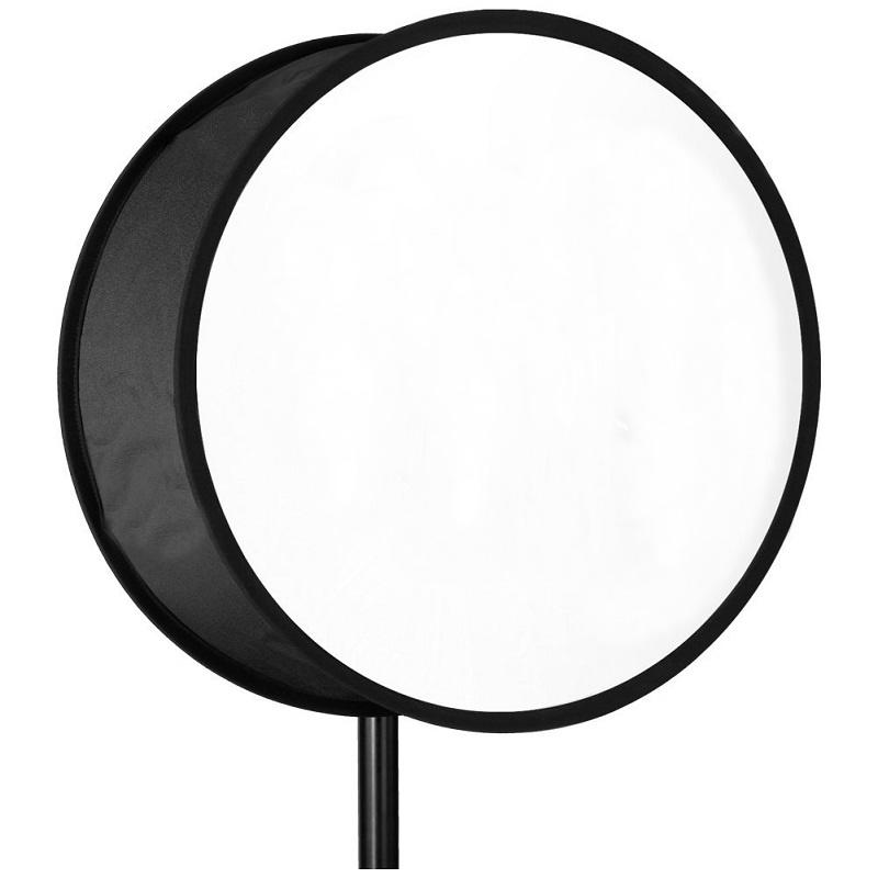 Difusor Softbox circular de 30cm para Flash Speedlite