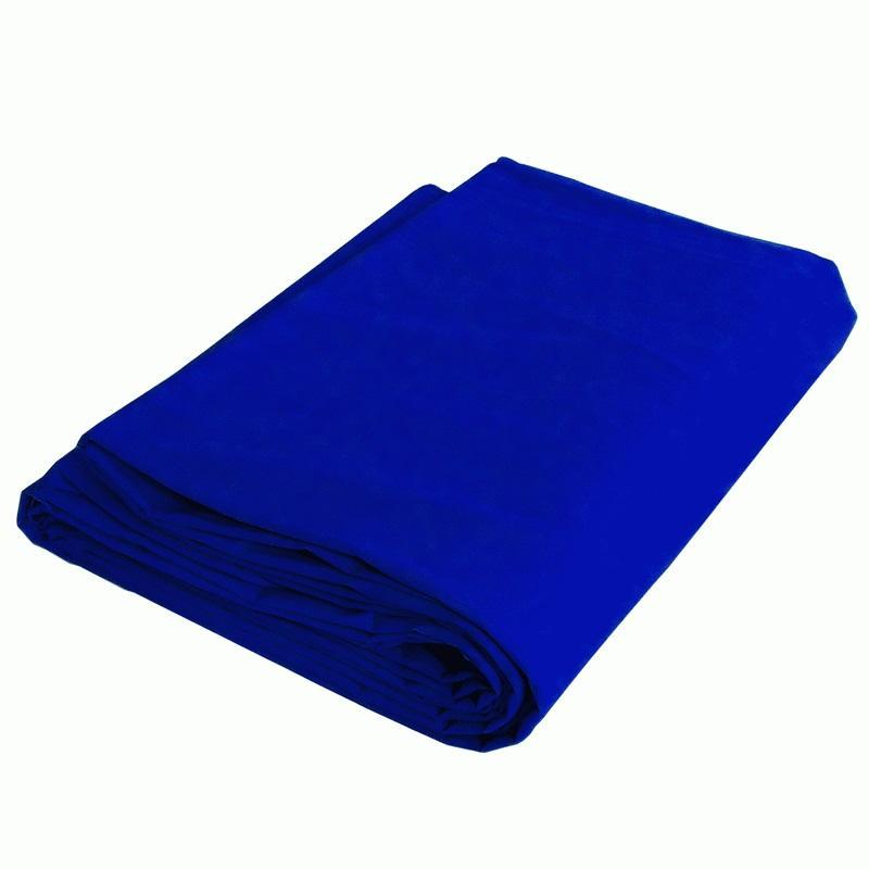 Fundo Infinito Chroma Key de Algodão Azul 3x4m