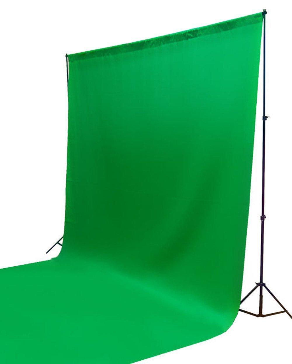 Fundo Infinito Chroma Key de Algodão Verde 3x3m