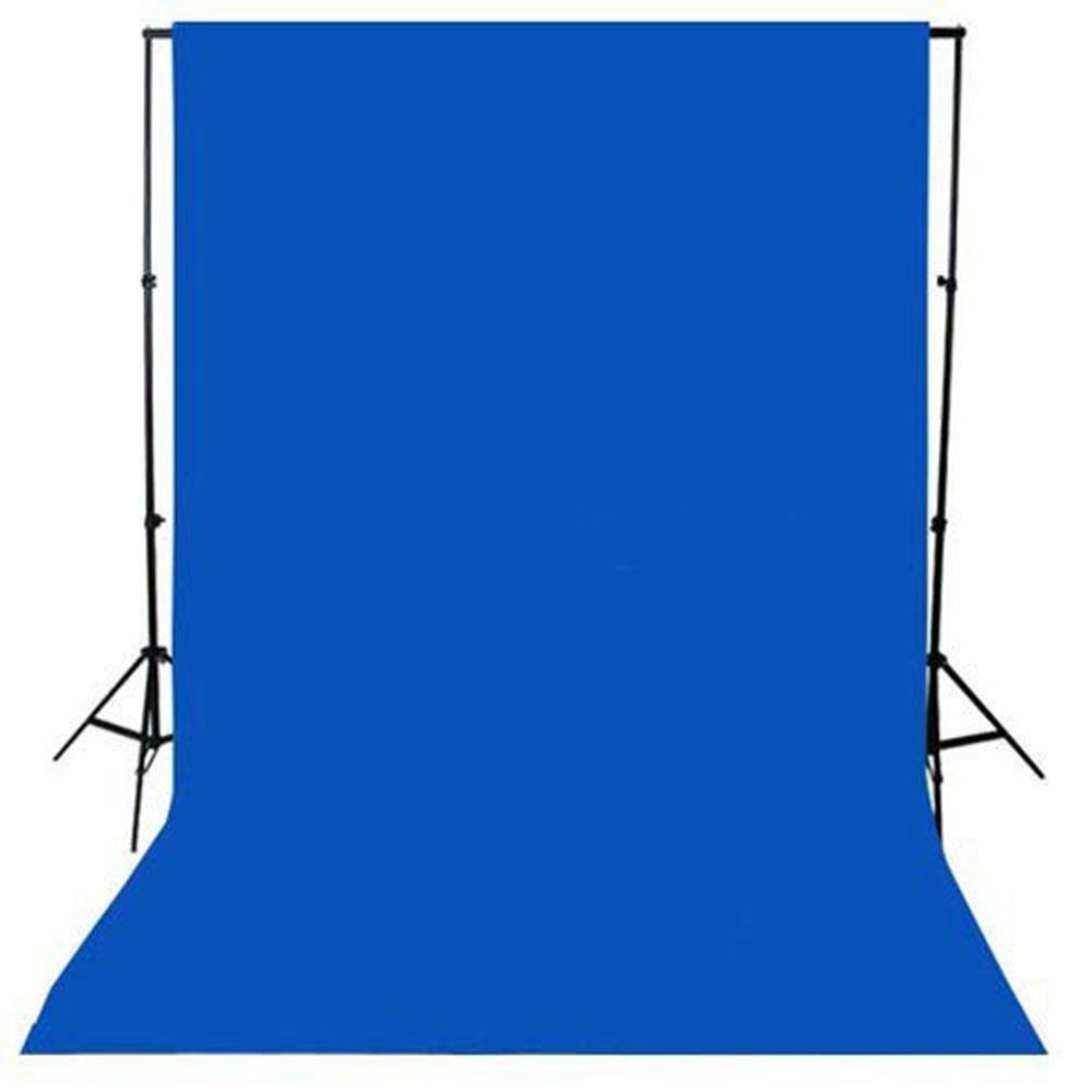 Fundo Infinito Chroma Key de Algodão Azul 3x3m