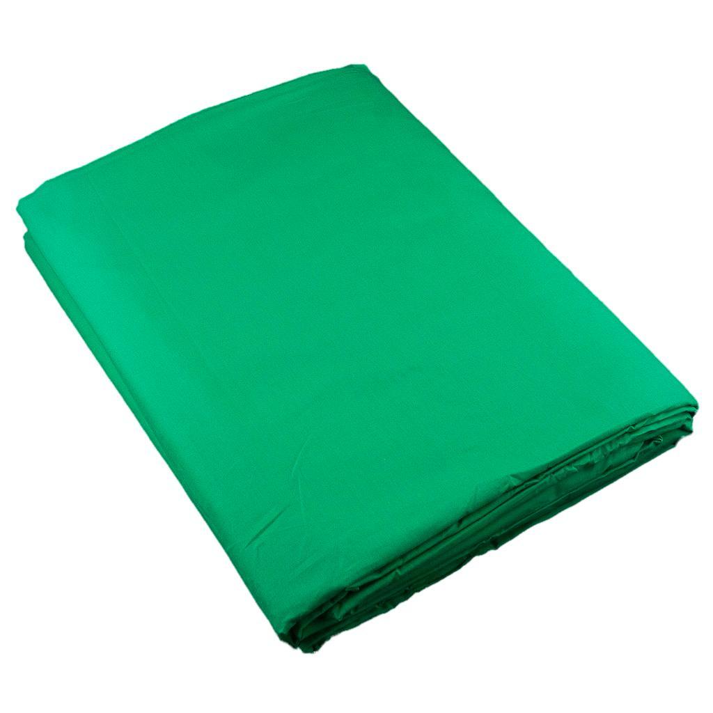 Fundo Infinito Chroma Key de Algodão Verde 1.8x2.8m