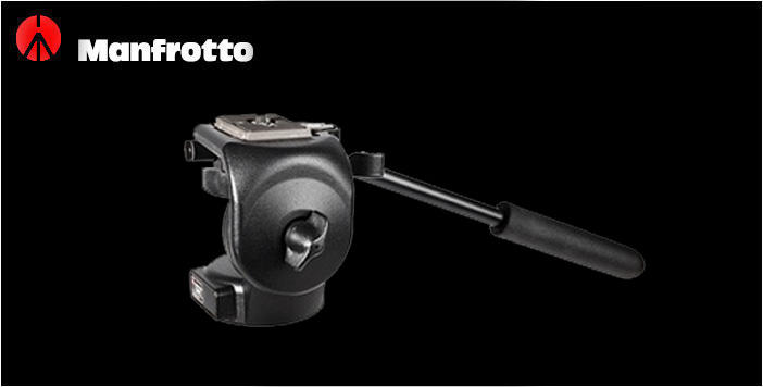 Cabeça Hidráulica Manfrotto 128RC QR Micro Fluid para até 4KG