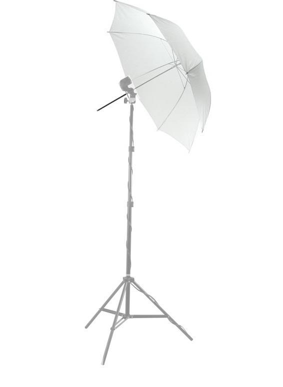 Sombrinha Fotográfica Difusora Branca de 122cm