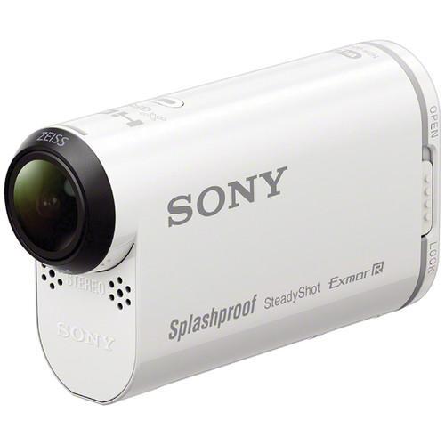 Filmadora de Ação Sony Action Cam HDR-AS200VR FHD / Wi-Fi / GPS com o Controle Remoto de Pulso RM LVR2