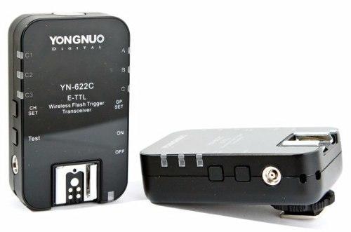 Rádio Flash Yongnuo YN-622C II para Canon  E-TTL