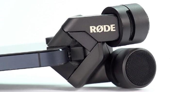 Microfone Rode Stereo iXY Lightning para iPhone e iPad